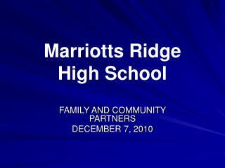 Marriotts Ridge High School
