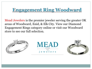 Engagement Ring Woodward