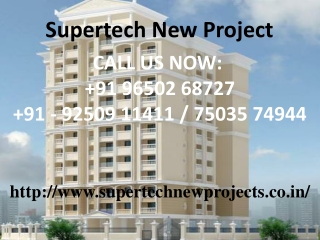 Supertech New Project Sector 68