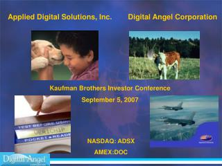 Kaufman Brothers Investor Conference September 5, 2007