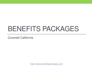Getting to Know Benefits Packages