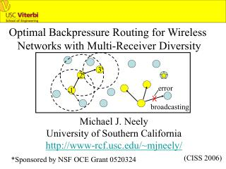 Optimal Backpressure Routing for Wireless  Networks with Multi-Receiver Diversity