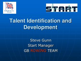 Talent Identification and Development