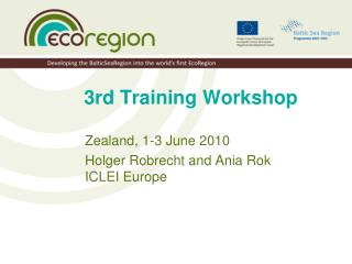 3rd Training Workshop