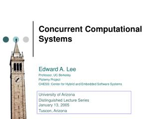 Concurrent Computational Systems