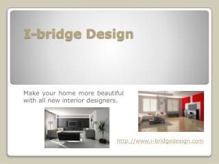 Interior Designers in Singapore I-bridge Design