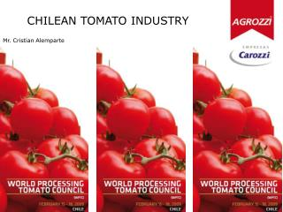 CHILEAN TOMATO INDUSTRY