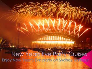 new years eve party cruises sydney harbour