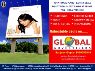 PLATINUM Outdoor Advertising in Mumbai