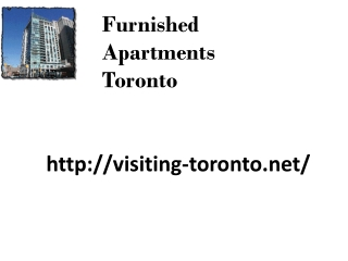Corporate Furnished Apartments Toronto