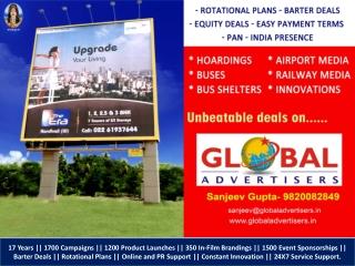 RAVI GROUP Outdoor Promotion in Mumbai