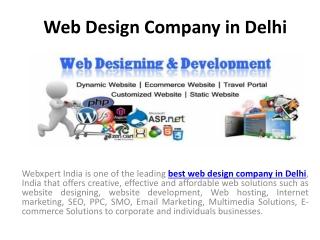 Webxpert India- Best Website Design and Development Company
