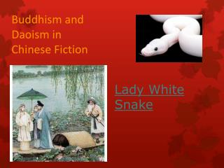 Buddhism and Daoism in Chinese Fiction