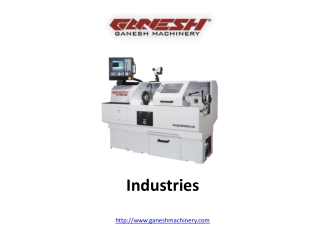 Machinery  for Industries