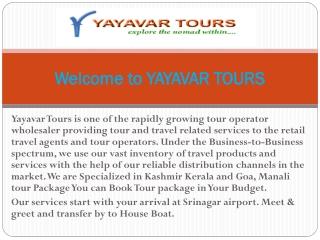 Kashmir Tour Packages | Honeymoon Tour Packages
