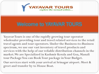 Kashmir Tour Packages | Honeymoon Tour Packages