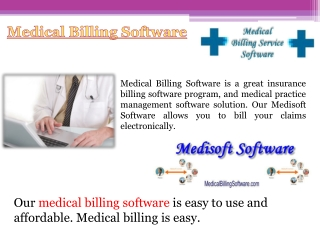 Medisoft Medical Billing Software