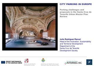 Parking challenges and proposals in the Santa Cruz de Tenerife Urban Master Plan Review