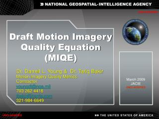 Draft Motion Imagery