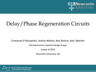 Delay/Phase Regeneration Circuits