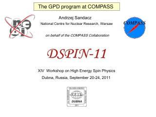 The GPD program at  COMPASS