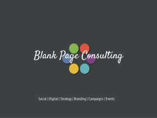 Blank Page Consulting