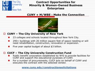 www.cuny.edu/constructionsolicitations