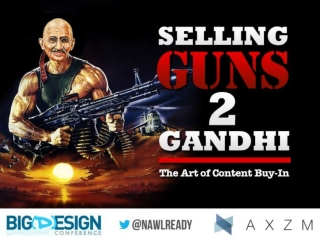 Selling Guns To Gandhi