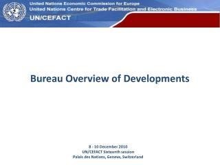 Bureau Overview of Developments