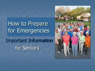 How to Prepare  for Emergencies