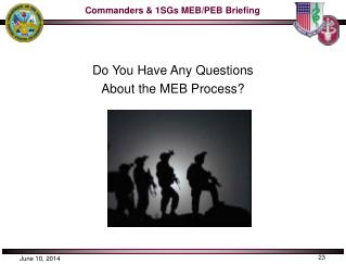 Do You Have Any Questions About the MEB Process?