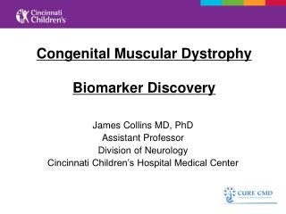 Congenital Muscular Dystrophy Biomarker Discovery