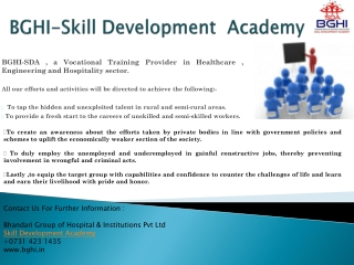 skill development academy