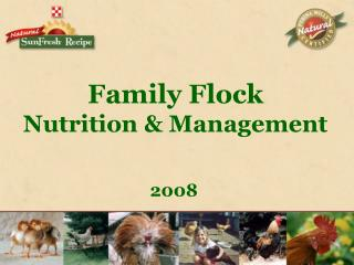 Family Flock  Nutrition & Management