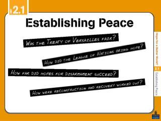 Was the Treaty of Versailles fair?