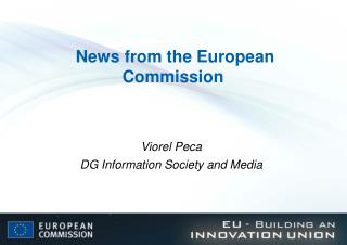 News from the European Commission