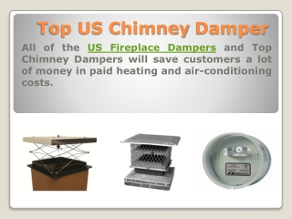Top US Chimney Damper
