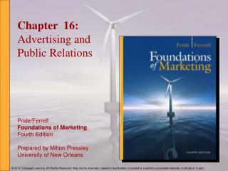 Chapter  16: Advertising and Public Relations
