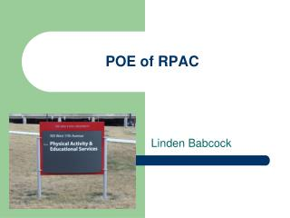 POE of RPAC