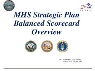 MHS Strategic Plan Balanced Scorecard Overview