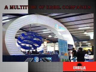 A Multitude of Erbil Companies