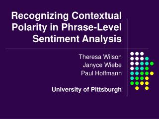 Recognizing Contextual Polarity in Phrase-Level Sentiment Analysis