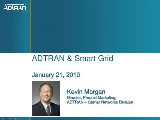 ADTRAN & Smart Grid
