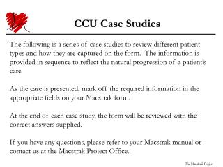 CCU Case Studies