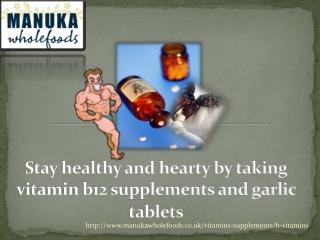 vitamin b12 supplements