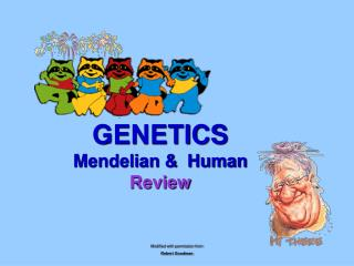 GENETICS Mendelian & Human Review