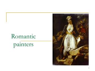Romantic painters