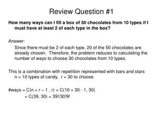 Review Question #1