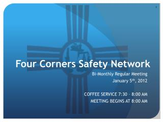 Four Corners Safety Network