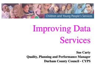 Improving Data Services